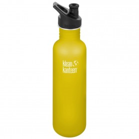 Butelka Klean Kanteen Classic Lemon Curry 800 ml Sport Cap