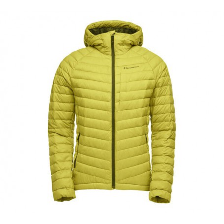 Black Diamond Access Down Hoody Sulphur męski sweter puchowy z kapturem