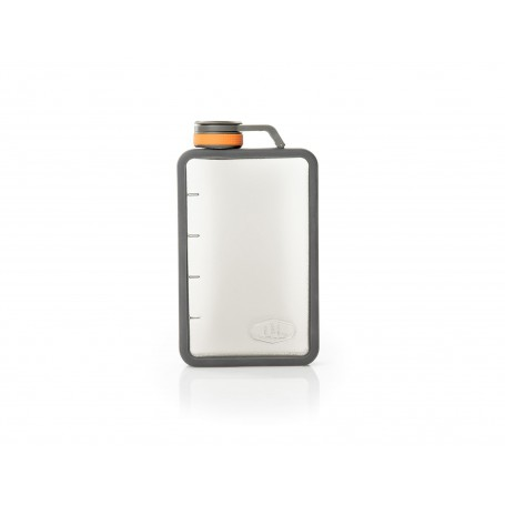 GSI Boulder Flask 296ml Grafit piersiówka