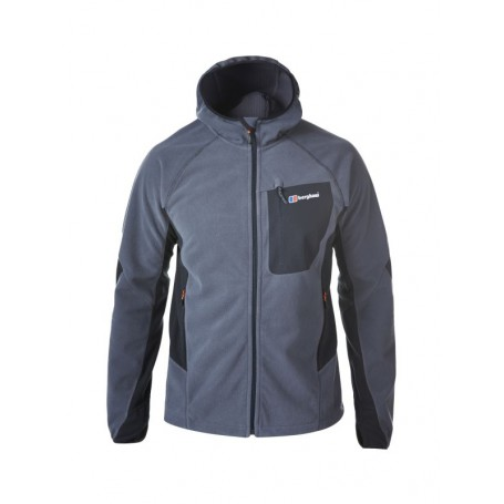 Berghaus Ben Oss Windproof Hooded Jacket - męski polar wiatroszczelna