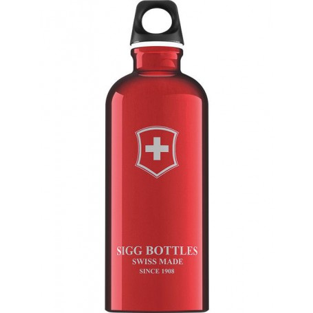 Butelka SIGG Swiss Emblem Red 0.6L - bidon Swiss Emblem Red