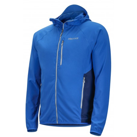 Cienki męski softshell Marmot Lightstream Jacket True Blue/ArcticNavy