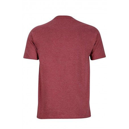 Męski T-shirt Marmot Alpine ZOne Tee SS Burgundy Heather