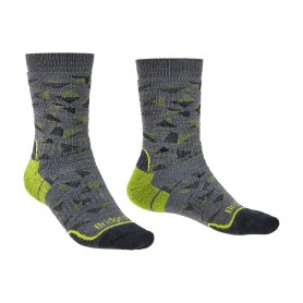 Bridgedale Hike MW Boot Merino Performance Patttern