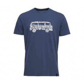 Black Diamond Vantastic Tee Ink Blue męski t-shirt