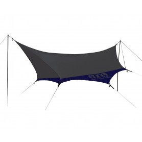 ENO Super Fly Utility Tarp Navy/ Grey