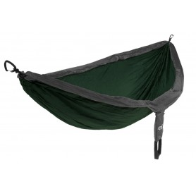 ENO DoubleNest Forest/ Charcoal hamak 2 osobowy